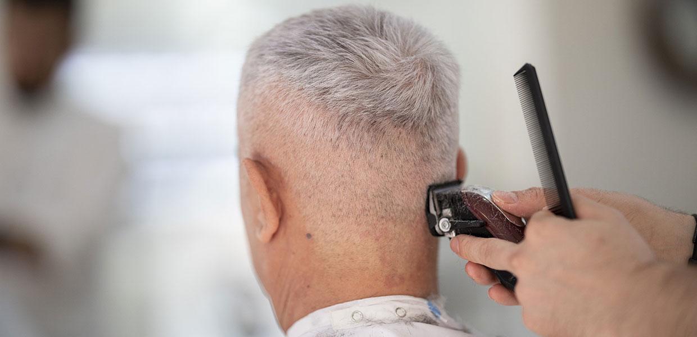 Mens Barber Pinner